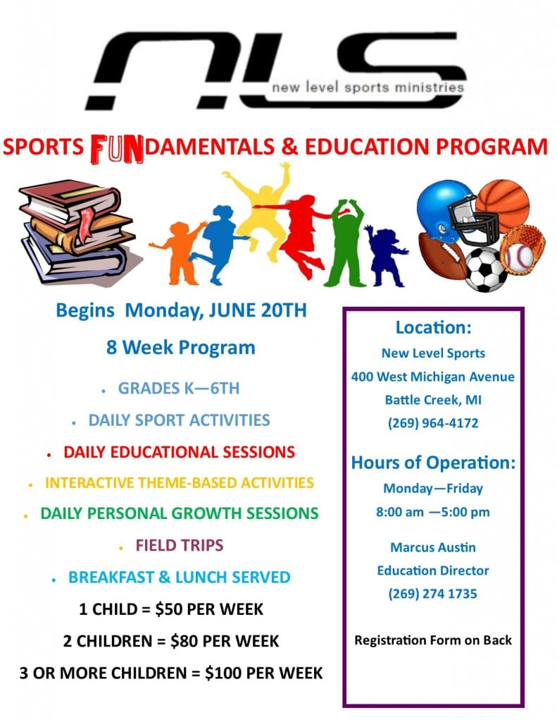 2016 Summer Program Flyer