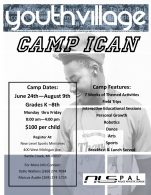 2019 Camp iCAN Flyer